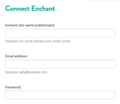 Sync Enchant tickets via API