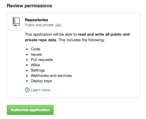 Sync GitHub Issues with OAuth