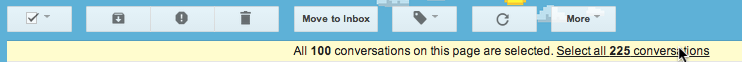 Show all starred emails in Gmail