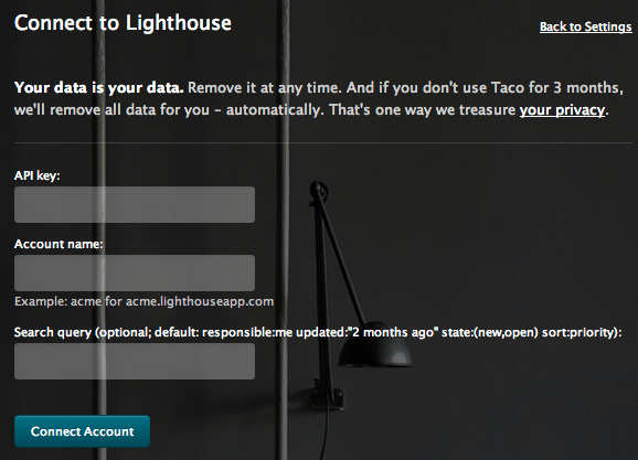 Sync Lighthouse issues via API