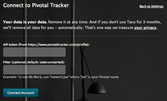 Sync Pivotal Tracker issues via API