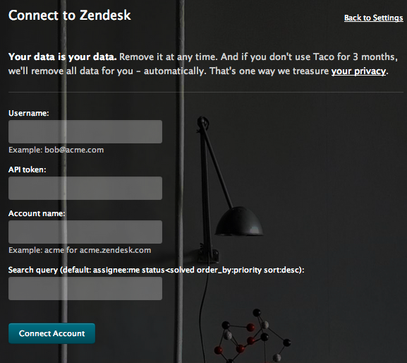 Sync Zendesk issues via API